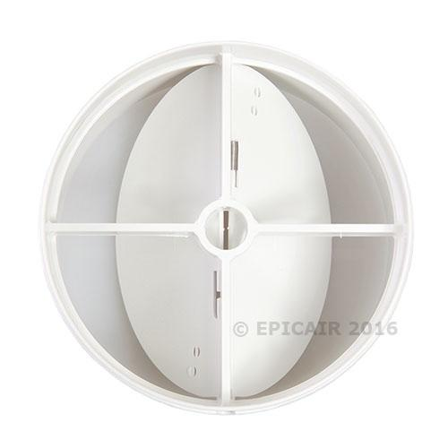 "150mm-6"" In-line Backdraught Shutter"