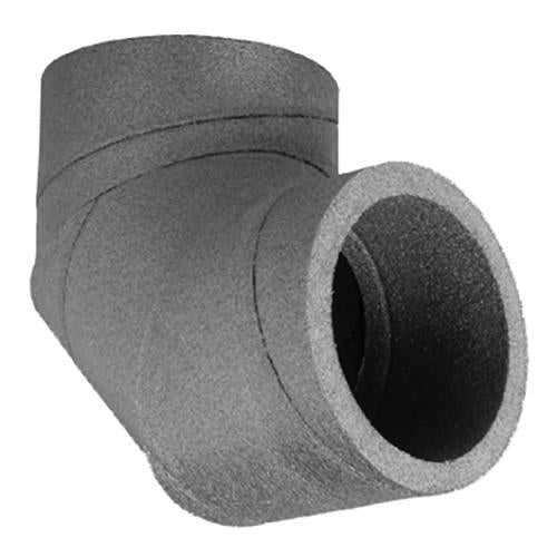 UBBINK AERFOAM 125MM INSULATED DUCT 90 DEGREE BEND