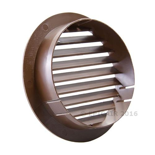 "150mm-6"" External Louvered Shutter - White"