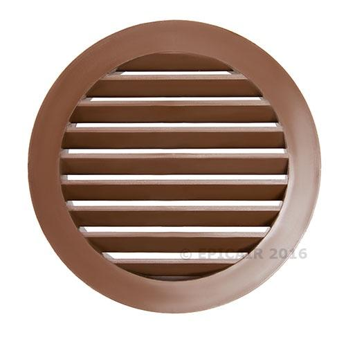 "125mm-5"" External Louvered Shutter - White"