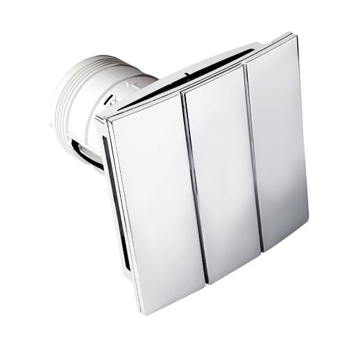 Decorative Chrome Silent Fan With Timer, Remote Operation