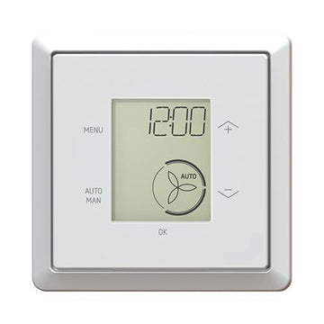 Zehnder ComfoSense C67 remote display for Zehnder ComfoAir Q350-450-600, incl. mounting box