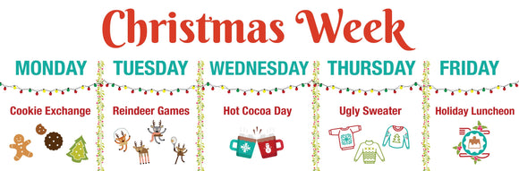 Christmas Week at Lucky Line!