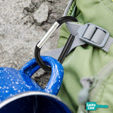 high quality carabiner c-clips by lucky line