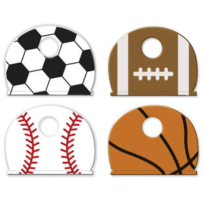 Lucky Line Sports key caps key identifiers for soccer, football, baseball, and basketball 161