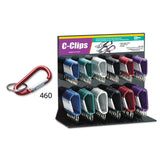 Lucky Line C-Clip Display retail solutions for locksmith and hardware stores