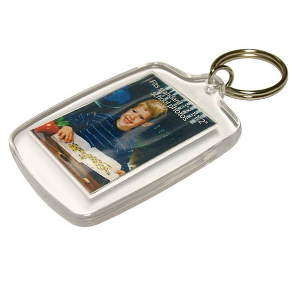 Lucky Line Acrylic Photo Holder vintage picture key chain look 206