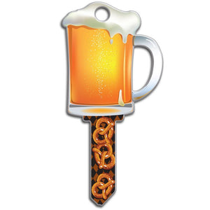 Lucky Line Beer Key Shapes decorative house key B110
