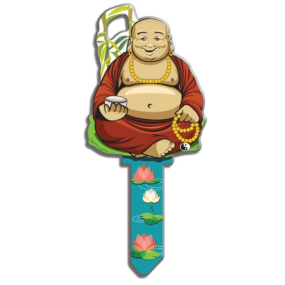 Lucky Line Buddha Key Shapes decorative house key B137