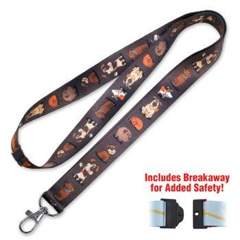 Lucky Line Dog Lanyard to wear and attach badge, keys, or other small items C204