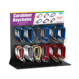 Lucky Line Carabiner Key chain Display retail solutions for locksmith and hardware stores