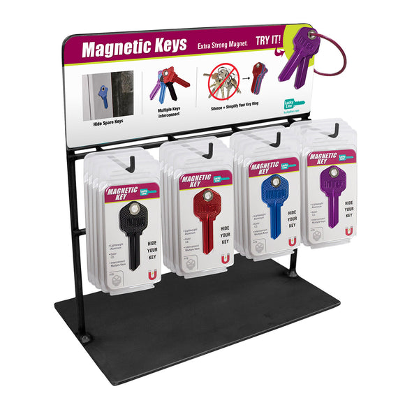 Lucky Line Magnetic Key Counter Display retail solutions for locksmiths and hardware stores 15000