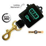 Lucky Line Gear Keeper Slip On bolt snap key organizer 474