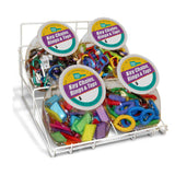 Lucky Line Jar Displays for Counter retail solutions for locksmith and hardware stores
