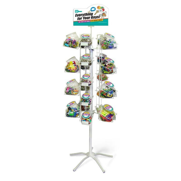 Lucky Line Jar Floor Display retail solutions for locksmiths and hardware stores