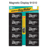 jumbo magnetic key hider retail display for locksmiths
