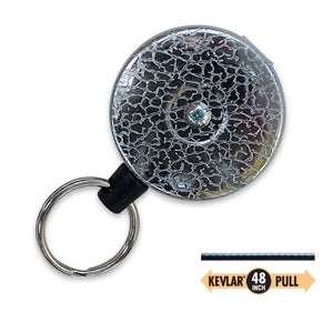 Lucky Line Key Bak clip on high quality key reel 437