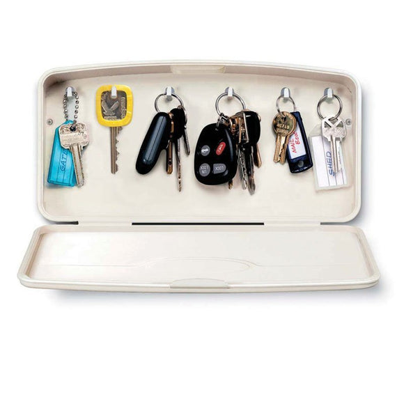 Lucky Line Key Case  stylish way to store 6 keys for your home office or garage 615