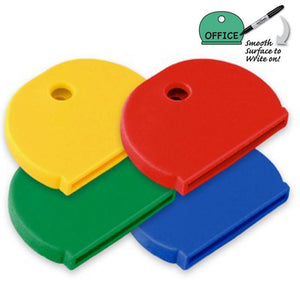 Lucky Line Key caps house and office key identifiers in assorted colors 160