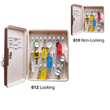 Lucky Line Key Organizer with 24 numbered hooks to keep keys stored and organized 610 612 locking or non locking