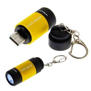 Lucky Line Utilicarry LED USB Torch Light rechargeable battery for everyday carry items EDC U112