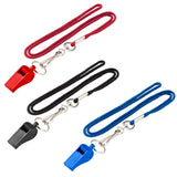 Lucky Line Lanyard with Whistle great for sports coaches and practice. Safety whistle. Fits around the neck with woven nylon 422
