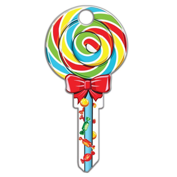 Lucky Line Lollipop candy Key Shapes decorative house key B140