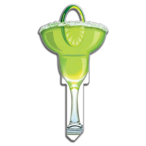 Lucky Line Margarita fiesta drink Key Shapes decorative house key B109