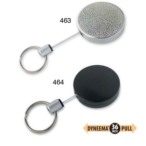 Lucky Line Key Reel mid size heavy duty 463 464 clip on Dyneema® cord, a military-grade strength material