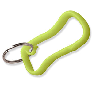 Lucky Line Quik Clip Belt Clip plastic carabiner with key ring 458