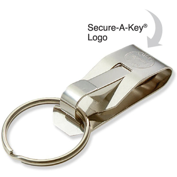 Lucky Line Secure-A-Key clip on belt clip with key ring 404 40401 40412