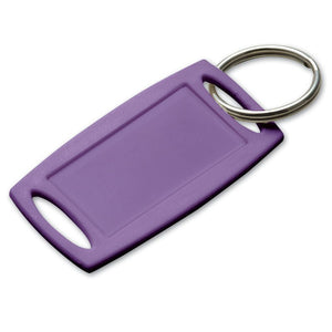 Lucky Line small rectangular label-it plastic key tag water-resistant and durable 170
