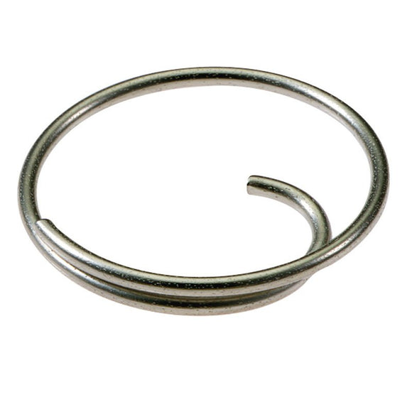 Lucky Line Tang Ring is a key ring with a unique inner turn making it easy to get keys on and off. 752