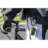 Lucky Line Locking Carabiner spring loaded c-clip with a screw to lock items in safely great for everyday carry essentials U124 EDC