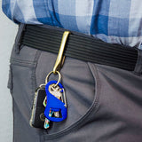 Lucky Line UtiliCarry Craft Key Bottle Opener asily clips to belt looks or bags and backpacks key chain U125