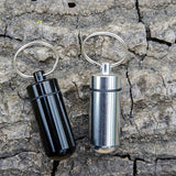 Lucky Line Storage Capsule for outdoor activities to store your medication or cash on your key ring.  Wonderful EDC everyday carry essential item U129