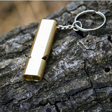 Lucky Line Safety Whistle Keychain for security while hiking and a great gift for college students. Place in EDC everyday carry U131