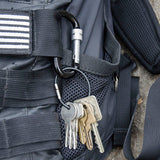 Lucky Line UtilliCarry Flex-o-loc storage ring to hold all of your everyday carry edc tools U711