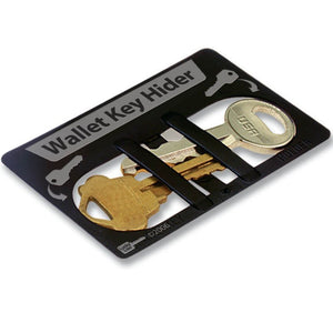 Lucky Line wallet key hider made of durable plastic 909