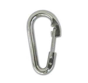 Lucky Line Stainless Snaps, Wire Gate unique loop closure, use as fasteners or quick attachment