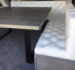 Tufted L Shaped Bench/ Banquette Seat