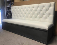 Load image into Gallery viewer, Tufted Banquette Seating - Handcrafted by Samantha