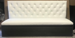 Tufted Banquette Seating - Handcrafted by Samantha