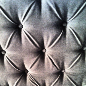Diamond Tufted Vintage Velvet Headboard with Nailhead Border- Large Tufts- (King, Tall)