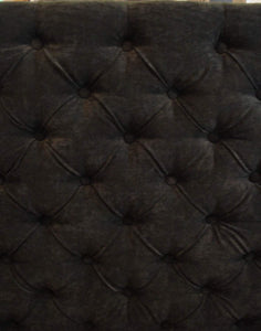 Diamond Tufted Dim Gray Velvet Headboard (Queen, Smaller Tufts) - Handcrafted by Samantha