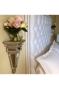 Diamond Tufted With Double Nailhead Border (Queen size, Extra Tall)