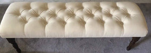 "Decorative Tufted Benches 60"" long"