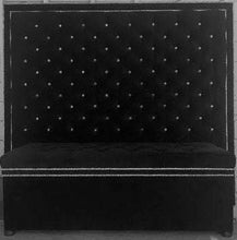 Load image into Gallery viewer, Crystal Button Tufted Velvet Headboard with Double Crystal Nailhead Border and Storage Bench Set (King, Extra Tall)