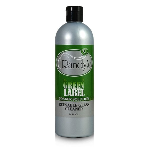 Randy's Green Label Soaker Solution: Reusable Glass Cleaner