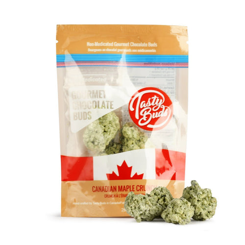 Tasty Buds Canadian Maple Crunch Gourmet Chocolate
